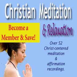 become a christian meditation member