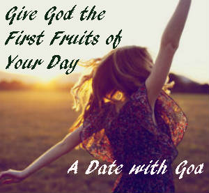 If you aren't giving God the First Fruits of your day. You could be missing out on some blessings. #datewithgod  http://thechristianmeditator.com/datewithgod/