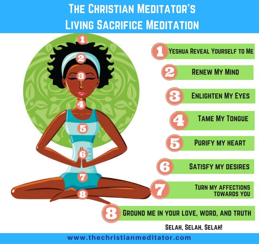 the christian meditator living sacrifice meditation