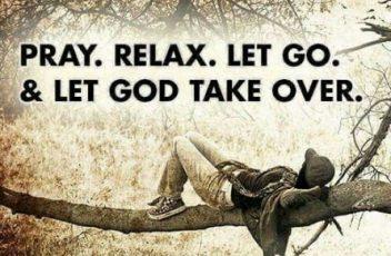 relax in god meditation