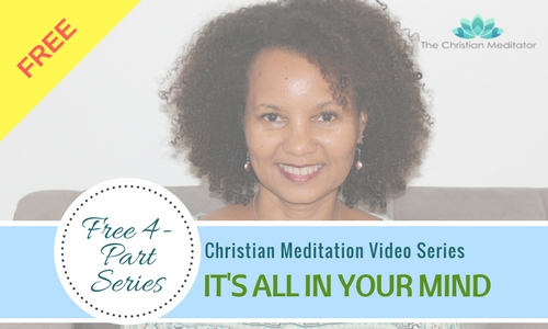 christian meditation free video series