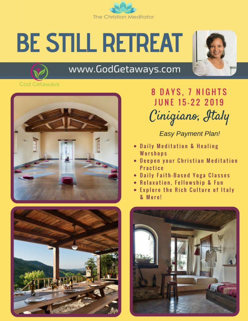 christian meditation retreat italy