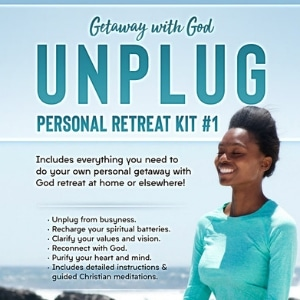 Unplug Christian Meditation Personal Retreat Kit