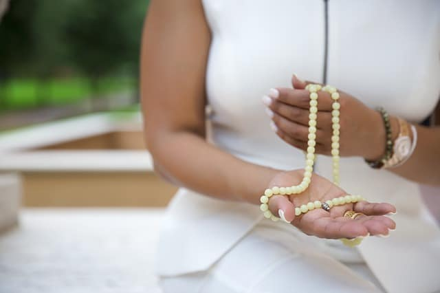 meditation prayer beads