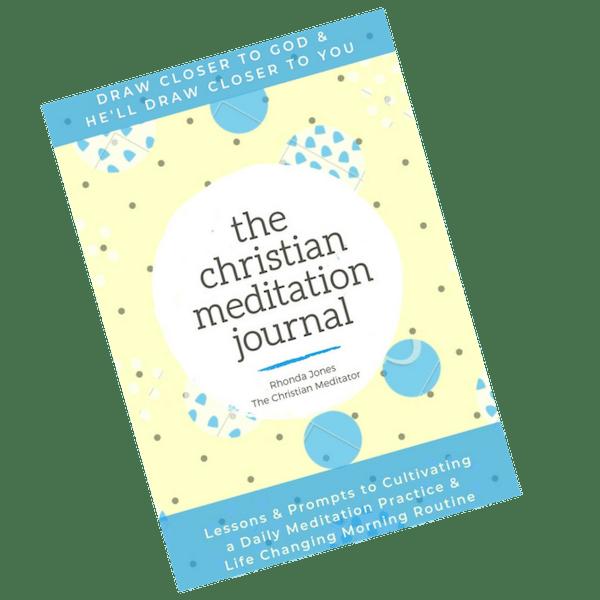 the christian meditation journal