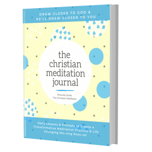 christian meditation journal