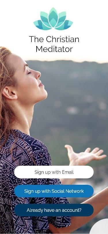 Christian Meditator App