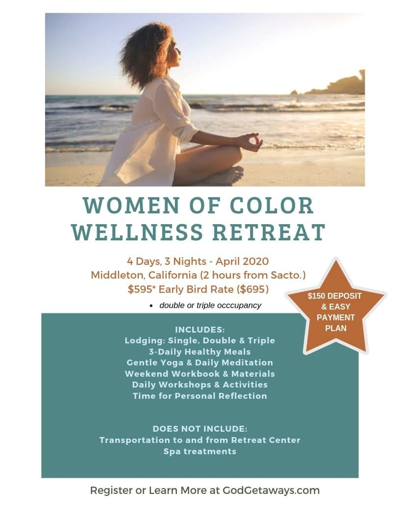 women of color wellness retreat