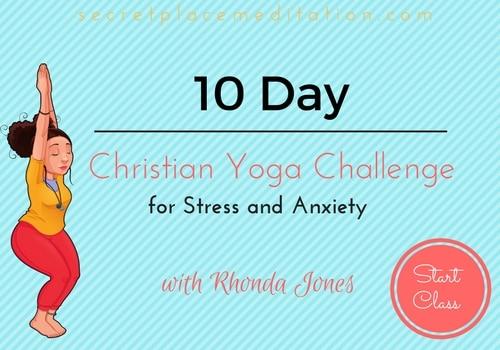 christian yoga challenge
