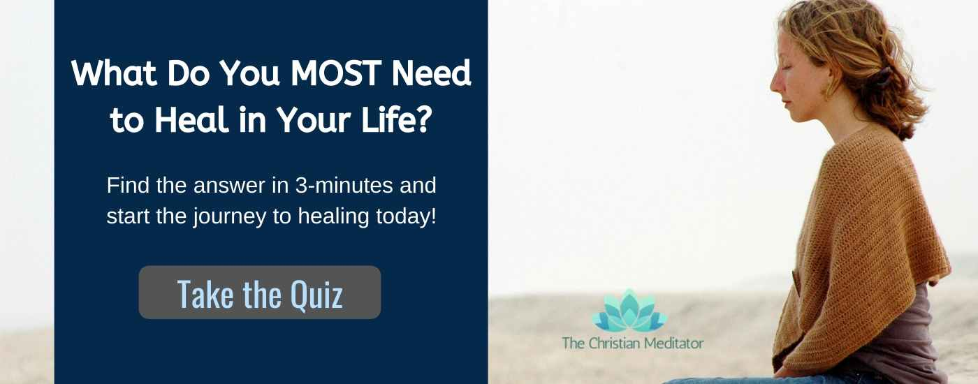 christian meditation healing quiz