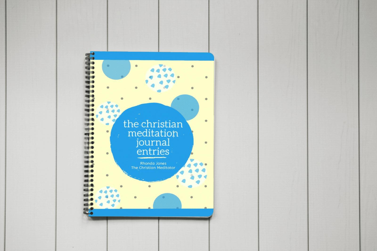 christian meditation journal entries