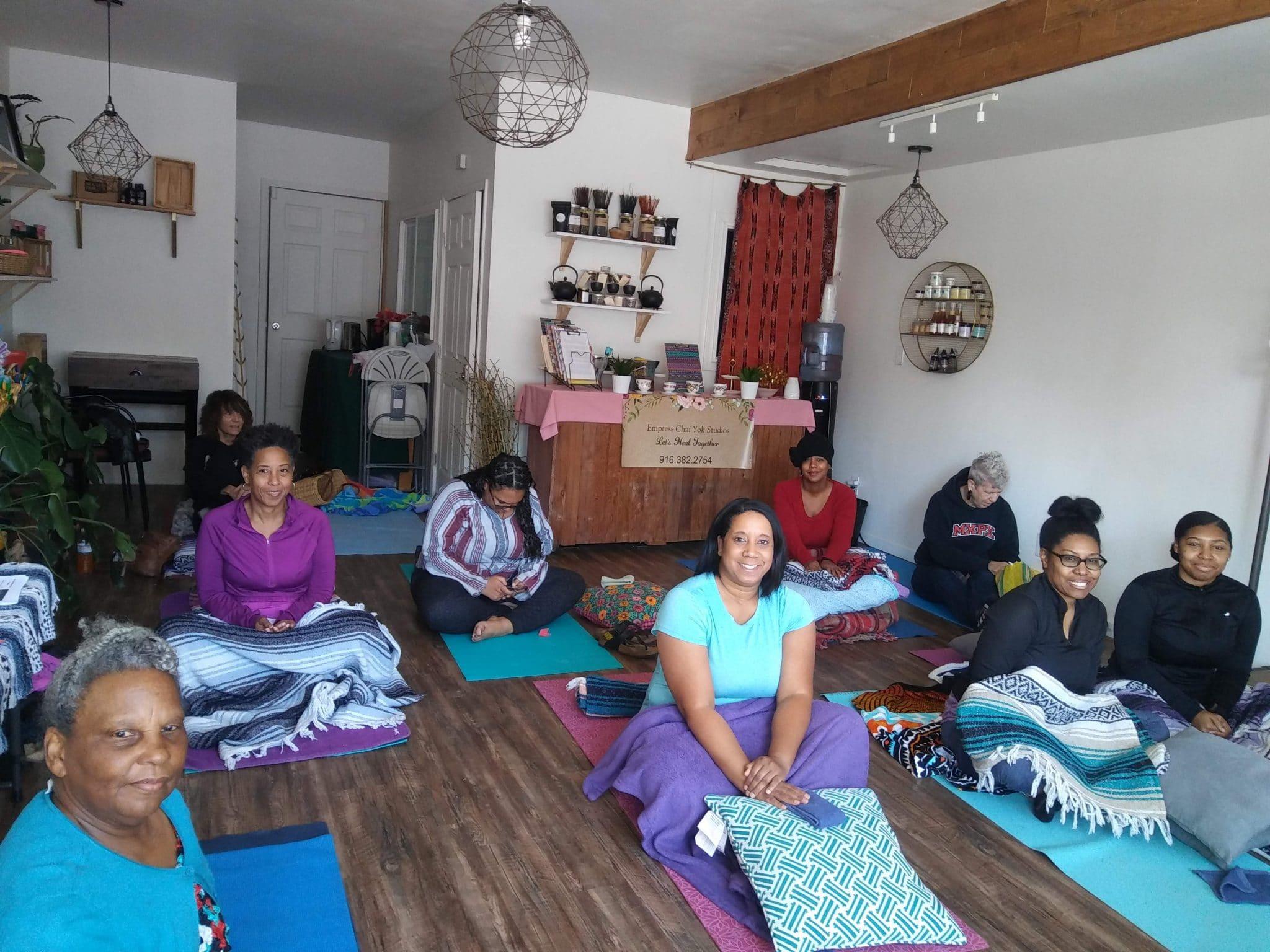 Sacramento christian yoga class
