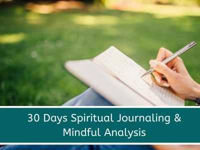 spiritual christian journaling