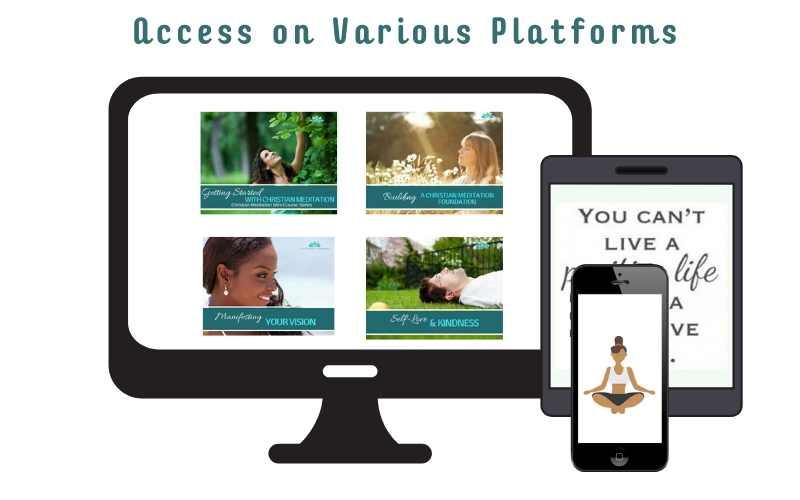 christian meditation membership online