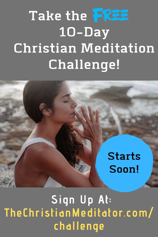 Join the Christian Meditation Challenge