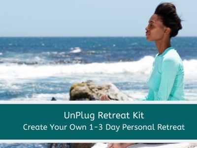 christian meditation personal retreat kit