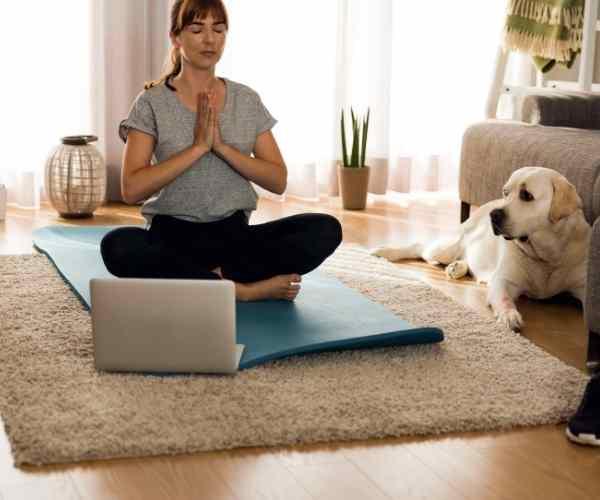 online christian meditation yoga