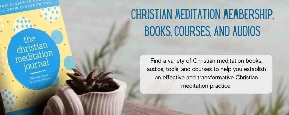 christian meditation books, audios, and courses