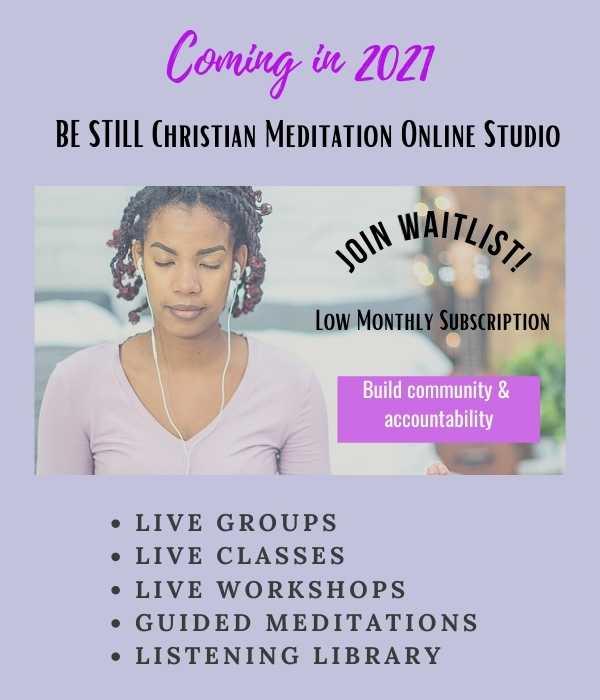 Christian Meditation Online Studio