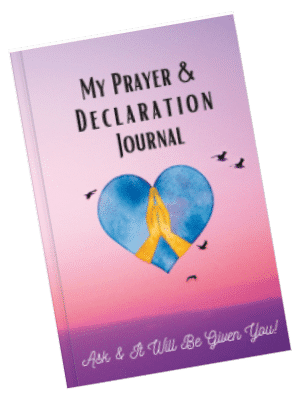 My Prayer and Declaration Journal