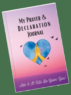My Prayer and Declaration Journal