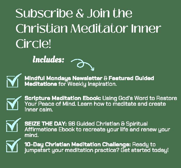 christian meditation inner circle