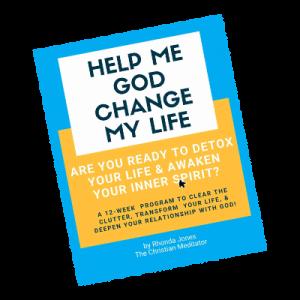 Help Me God Change My Life Cover