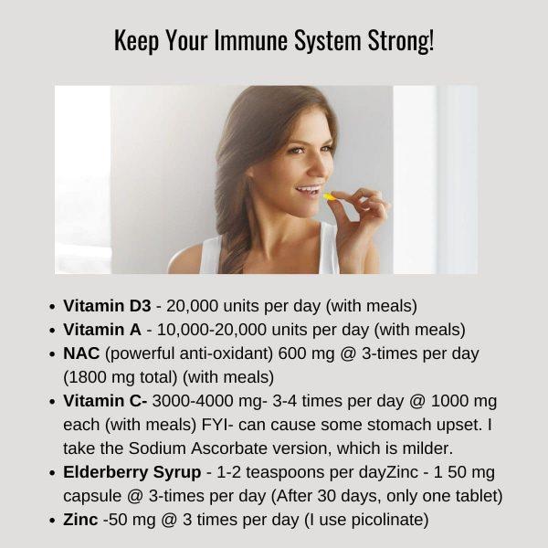 build immune system