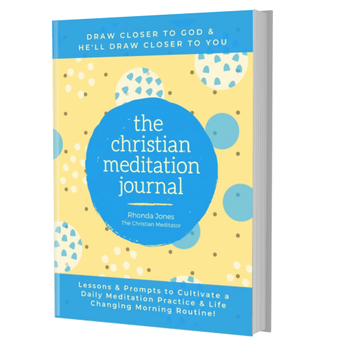 christian meditation journal by rhonda jones