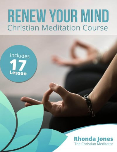 renew your mind christian meditation ebook