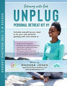 unplug christian meditation personal retreat kit